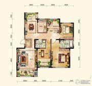 晟鑫康诗丹郡4室2厅2卫149平方米户型图
