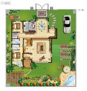 天境昆嵛中国院子5室2厅4卫289--375平方米户型图