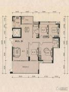 茵悦豪苑4室2厅2卫183平方米户型图