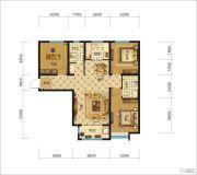 中交・香颂(廊坊)3室2厅2卫102平方米户型图