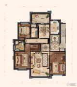 兴创屹墅3室2厅2卫0平方米户型图