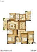 苏高新天之运5室2厅2卫188平方米户型图