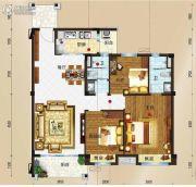 玉林碧桂园3室2厅2卫115平方米户型图