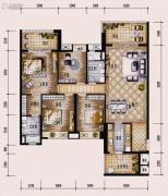 保利西海岸4室2厅2卫173平方米户型图