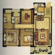 温州・奥体城3室2厅2卫89平方米户型图
