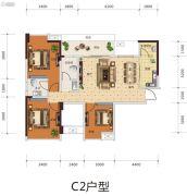 远发・麓港3室2厅2卫0平方米户型图