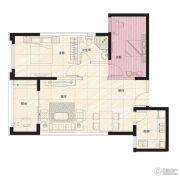 阳光100国际新城2室2厅1卫89平方米户型图