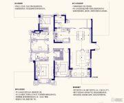 佳兆业城市广场5室2厅3卫141平方米户型图