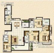 清远奥园4室2厅4卫0平方米户型图