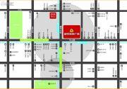 建华城市广场交通图