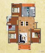 友谊嘉御龙庭4室2厅2卫165平方米户型图