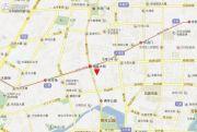 旭辉峰尚交通图