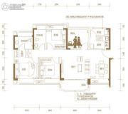 玖颂江湾3室2厅2卫115平方米户型图