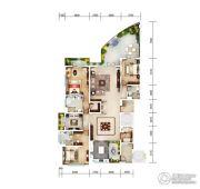 俊发・滨海俊园4室2厅4卫344平方米户型图