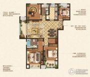 丹阳吾悦广场4室2厅2卫141平方米户型图
