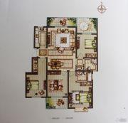 禹洲翡翠湖郡4室2厅2卫141平方米户型图