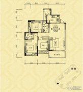长江国际社区巴塞罗那庄园2室2厅2卫106平方米户型图