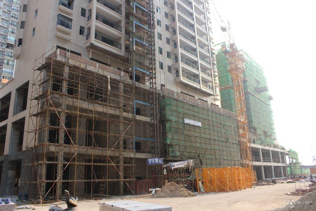 滨江豪园·新城2015年1月份工程实景图