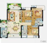 益华・山海郡3室2厅2卫110--120平方米户型图
