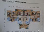 汇景湾3室2厅3卫0平方米户型图