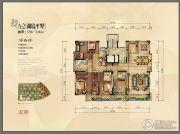 金地湖城大境5室4厅4卫338--348平方米户型图