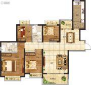恒大悦龙台4室2厅2卫0平方米户型图