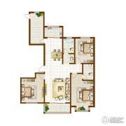 银河湾・3号院3室2厅2卫0平方米户型图