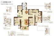 嘉洲灏庭3室2厅2卫137平方米户型图