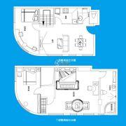 TOUCH悦城3室2厅2卫152平方米户型图