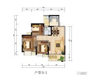 红城首府3室2厅1卫0平方米户型图