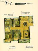 恒通蓝湾国际4室2厅2卫146平方米户型图