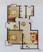 金鼎绿城3室2厅1卫127平方米户型图