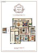 百悦城5室2厅2卫164平方米户型图