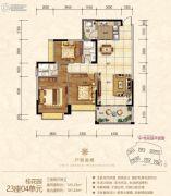金海湾豪庭3室3厅3卫125平方米户型图