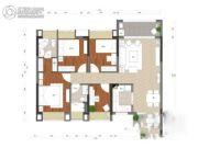 晟大翠海明珠4室2厅2卫113平方米户型图