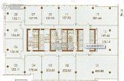 金融城绿地中心1室1厅1卫134--468平方米户型图