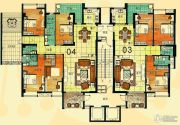 尚景康园148--207平方米户型图