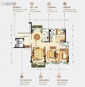 台山碧桂园盛世华府3室2厅2卫116平方米户型图