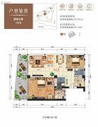 山海汇1室1厅1卫55--88平方米户型图