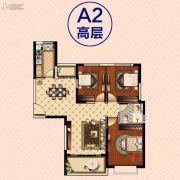 南昌恒大御景(原恒大帝景)3室2厅1卫110--114平方米户型图