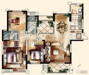 中海凤凰熙岸・玺荟3室2厅2卫0平方米户型图