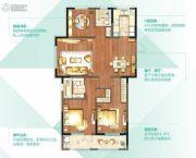 朗诗太湖绿郡3室2厅2卫134平方米户型图