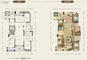 荣和公园尊府6室2厅4卫299平方米户型图