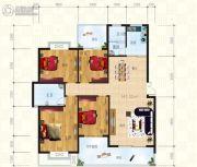 锦天・生态城4室2厅2卫145平方米户型图