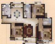 城置御水华庭2室2厅2卫131平方米户型图