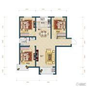 滨湖国际・观澜3室2厅1卫99平方米户型图