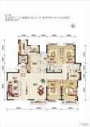 欧华逸景香山4室2厅3卫231平方米户型图