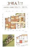 中糖・大城小院3室2厅2卫109平方米户型图