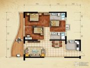 美鳌城3室2厅1卫108平方米户型图