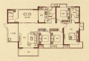 蓝湾新城4室2厅2卫0平方米户型图